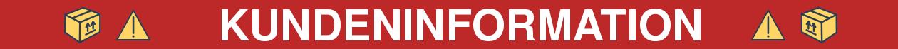 Kundeninformation Banner
