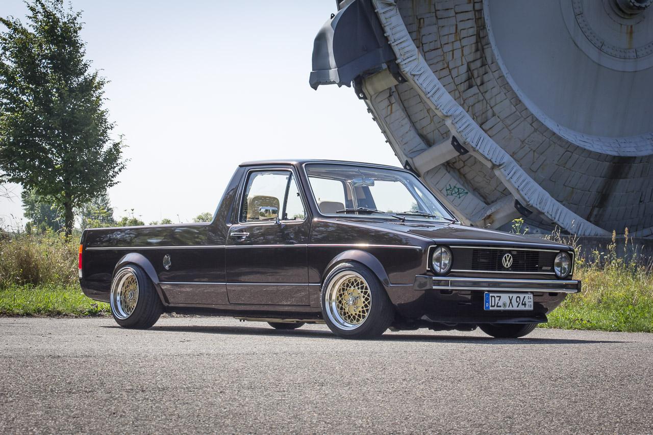 Vom Handwerkerauto zum Edel-Pick-up: 84er VW Caddy mit