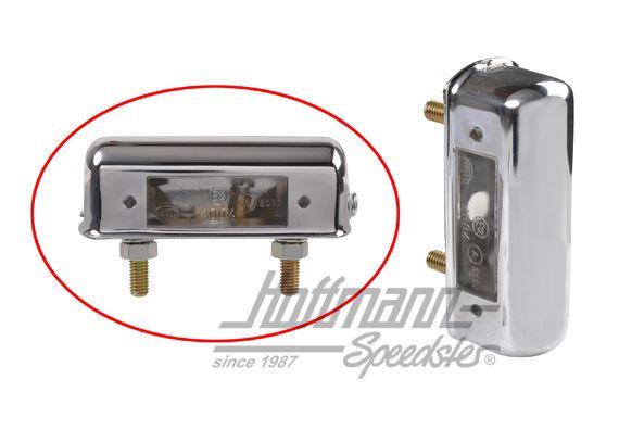 Anbau links//rechts Schraubanschluss HELLA 2KA 997 011-011 Kennzeichenleuchte C5W mit Kennzeichenlicht